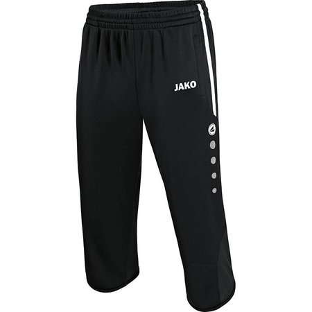 Jako JAKO 3/4 Trainingsshort Active - Zwart/Wit