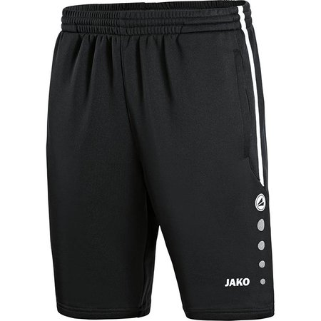 Jako JAKO Trainingsshort Active - Zwart/Wit