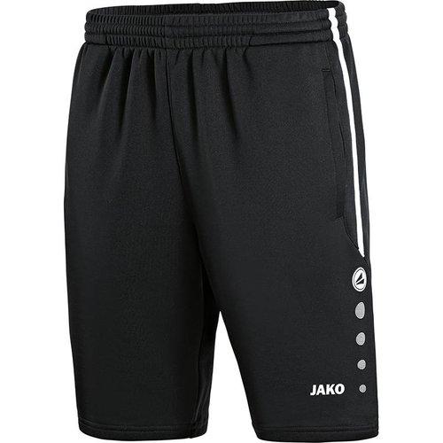 Jako JAKO Trainingsshort Active - Zwart/Wit