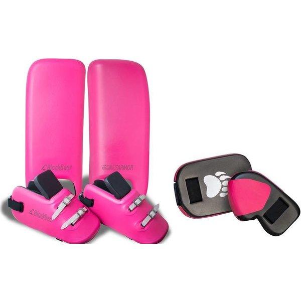BlackBear Legguards + Klompen + Handshoenen  Racoon Pink
