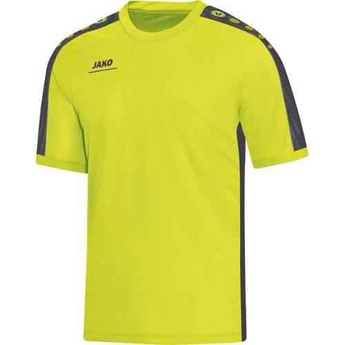 Jako JAKO T-Shirt Striker - Lime/Antraciet