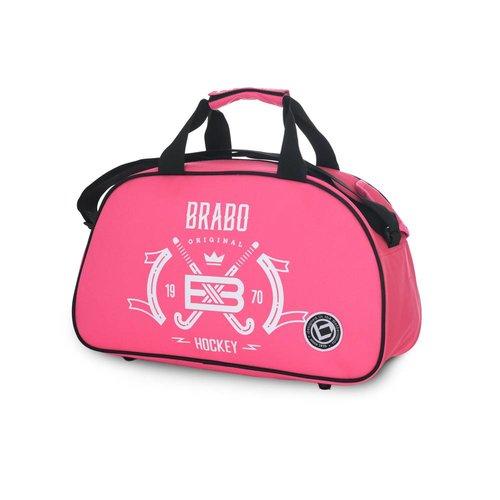 Brabo Hockey Shoulderbag Emblem Since 1970 Pink