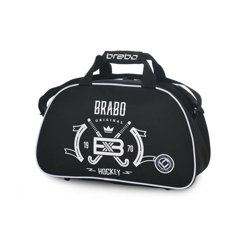 Brabo Hockey Shoulderbag Emblem Since 1970 Black