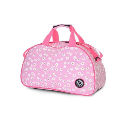 Brabo Hockey Shoulderbag Daisies Pink