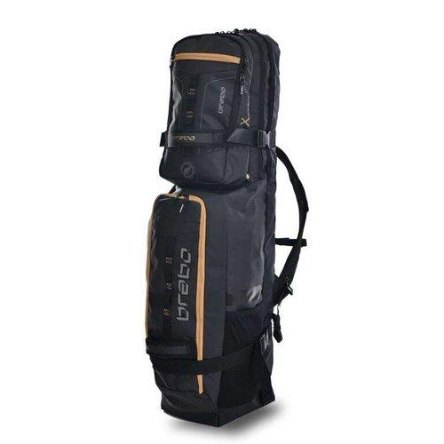 Brabo Hockey Brabo hockey Stickbag TeXtreme Kangaroo Black/Gold