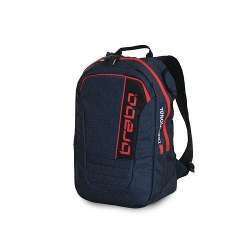 Brabo Hockey Brabo hockey Backpack SR Traditional Denim Blue/Red