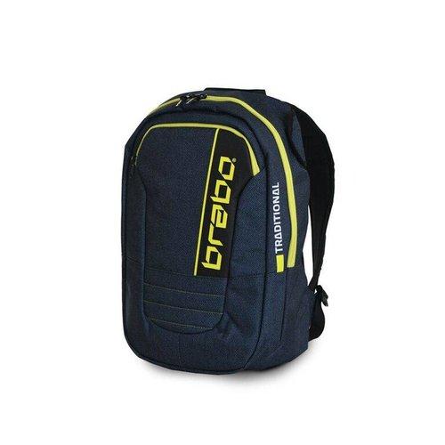 Brabo Hockey Brabo hockey Backpack SR Traditional Denim Blue/Yellow