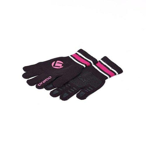 Brabo Hockey Brabo Winterhandschoenen Zwart / Roze