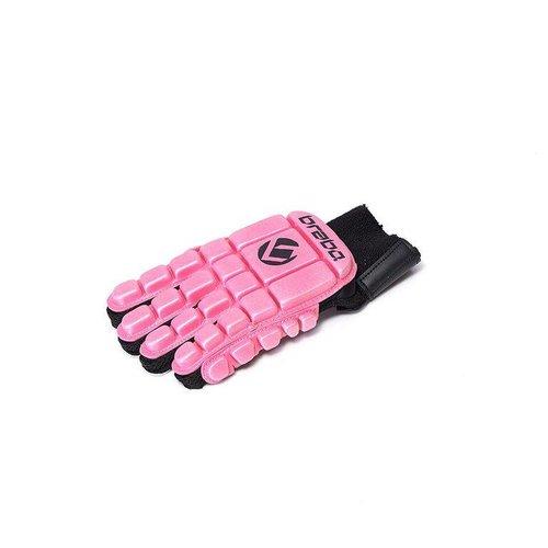 Brabo Hockey Foam handschoenen F3 Full Finger L.H Roze