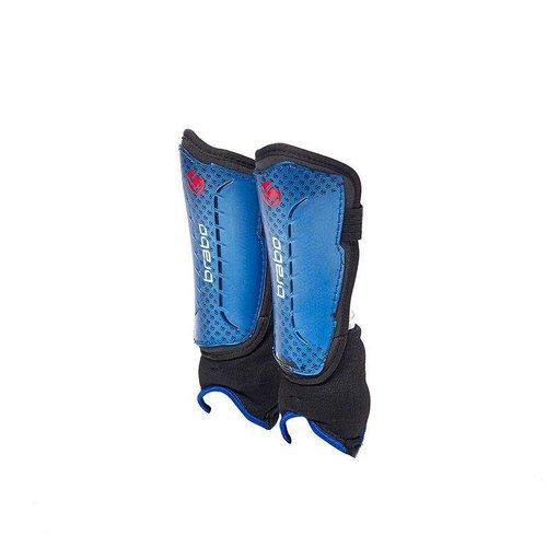 Brabo Hockey Brabo Scheenbeschermers F4 Grommet Blauw