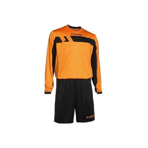 Patrick Patrick scheidsrechter tenue LS Oranje / Zwart