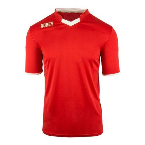 Robey Robey Sportswear Shirt Hattrick SS Rood