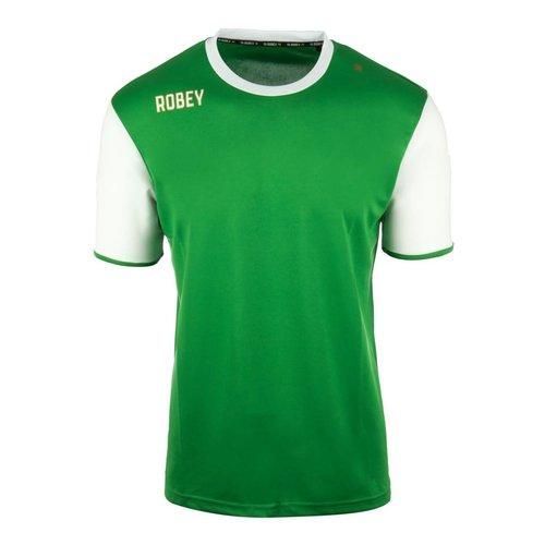 Robey Robey Sportswear Shirt Icon Groen/Wit Sleeve