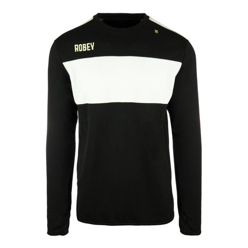Robey Robey Sportswear Performance Sweater Zwart/Wit