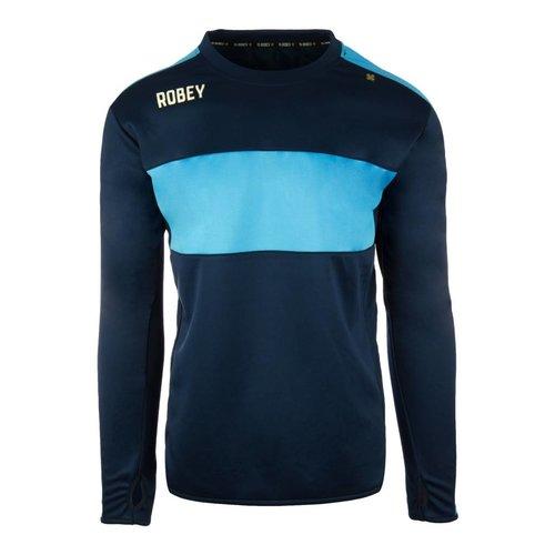 Robey Robey Sportswear Performance Sweater Navy/Sky Blue