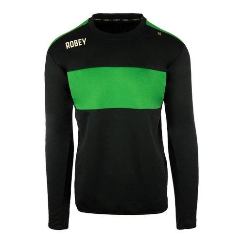 Robey Robey Sportswear Performance Sweater Zwart/Groen