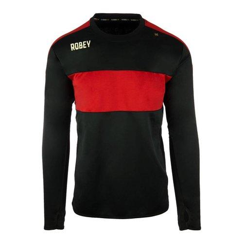 Robey Robey Sportswear Performance Sweater Zwart/Rood