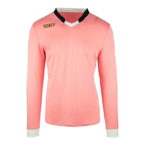 Robey Robey Sportswear Shirt Hattrick LS Rose Flamingo