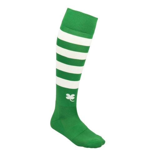 Robey Robey Sportswear Ring Sokken Groen/Wit Stripe