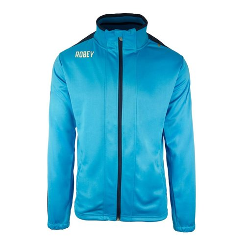 Robey Robey Sportswear Performance Trainingsjas Sky Blue/Navy