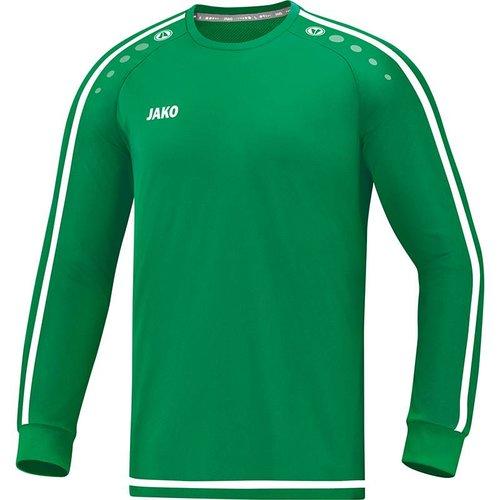 Jako JAKO Shirt Striker 2.0 LM sportgroen/wit