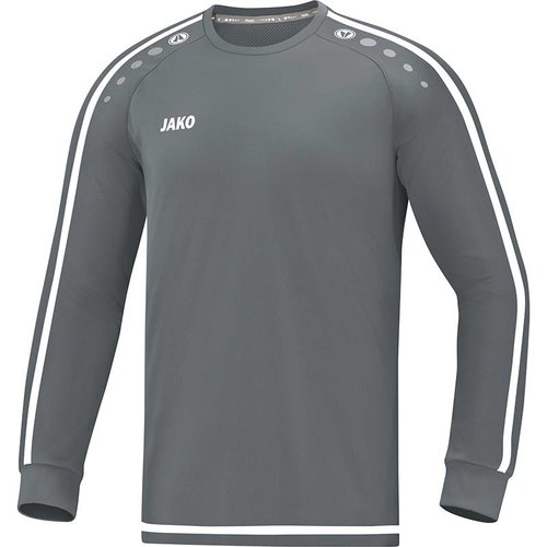 Jako JAKO Shirt Striker 2.0 LM steengrijs/wit