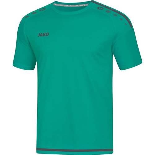 Jako JAKO T-shirt/Shirt Striker 2.0 KM turkoois/antraciet
