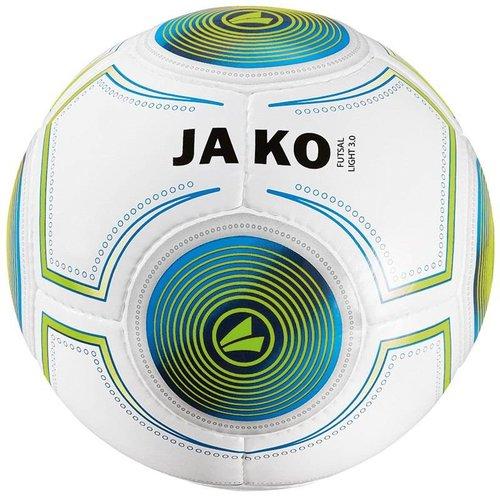 Jako JAKO Bal Futsal Light 3.0 wit/JAKO blauw/fluo groen-290g