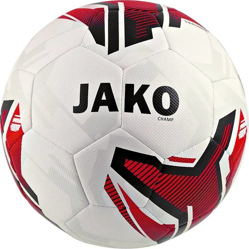 Jako JAKO Trainingsbal Champ wit/rood/zwart