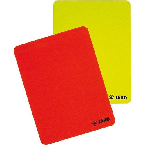 Jako JAKO Kaartenset scheidsrechter geel/rood