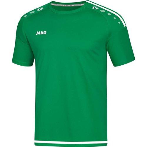 Jako JAKO T-shirt/Shirt Striker 2.0 KM dames sportgroen/wit
