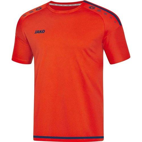 Jako JAKO T-shirt/Shirt Striker 2.0 KM dames flame/navy