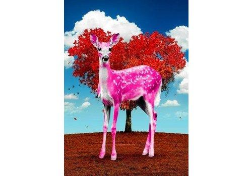 Paco Raphael Bambi Pink Valentine