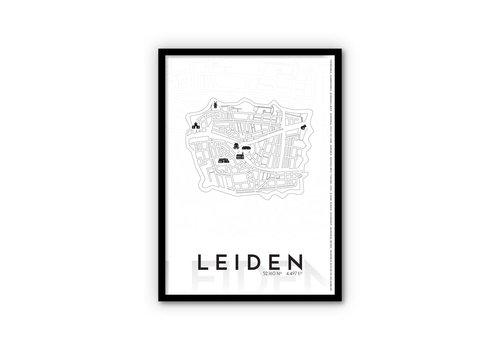 City poster Leiden
