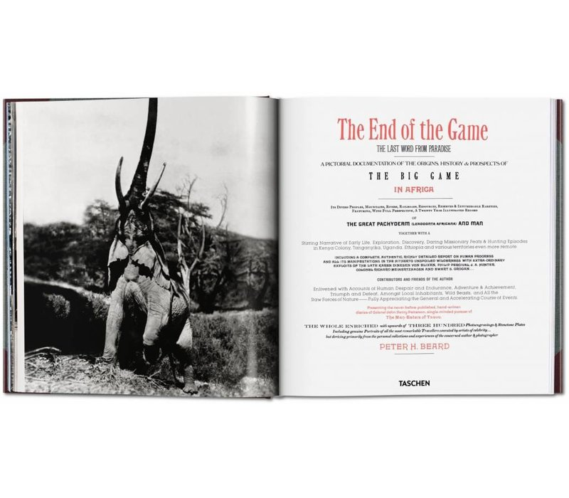 Peter Beard -  The End of the Game - 50th Anniversary Edition