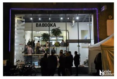 Babooka en Legit, een boekwinkel en kantoor niet alleen om te kopen, maar ook om te kijken