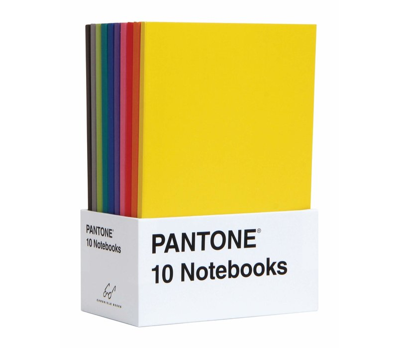 PANTONE - 10 Notebooks