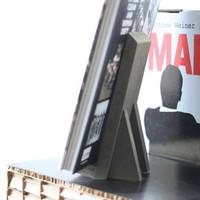 Boekenstandaard Small - MDF black
