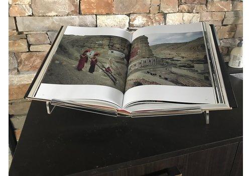 Boekenstandaard Large - Perspex