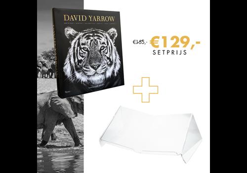 David Yarrow Photography & Boekenstandaard Large - Perspex