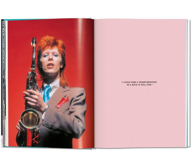 Mick Rock - The Rise of David Bowie, 1972 - 1973