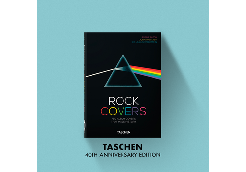 Taschen 40th Anniversary Rock Covers – 40th Anniversary Edition