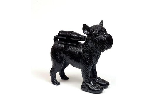 William Sweetlove Cloned Griffon Bruxellois wit pet bottle - BLACK