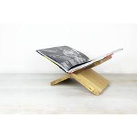 Boekenstandaard X - OAK Wood