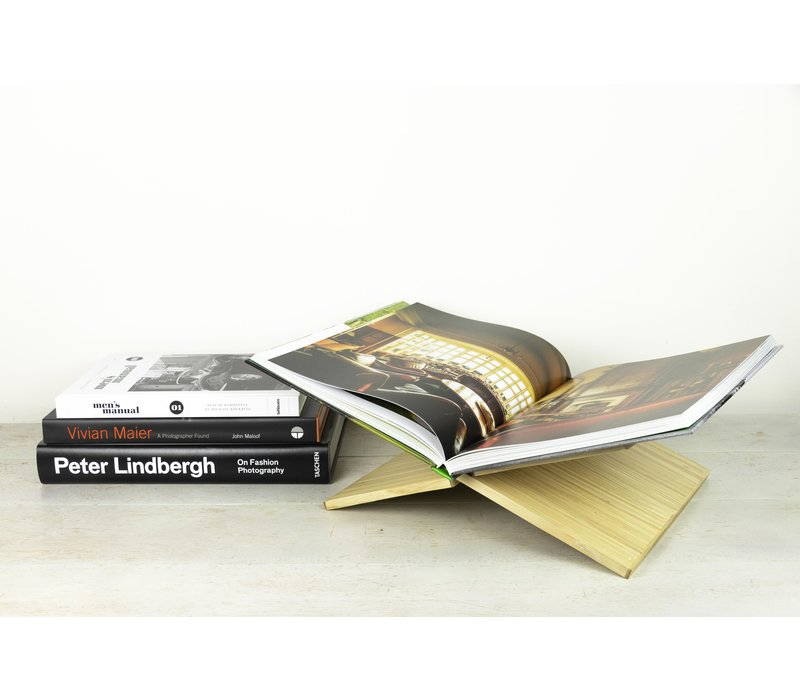 Boekenstandaard Terra Bamboe - X