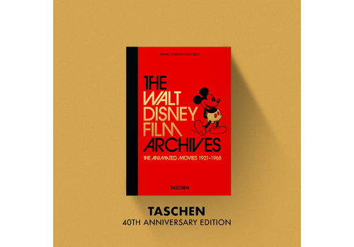 Taschen 40th Anniversary The Walt Disney Film Archives. The Animated Movies 1921–1968 - 40th Anniversary Edition