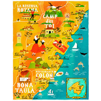 A Map Of The World - The World According To Illustrators And Storytellers