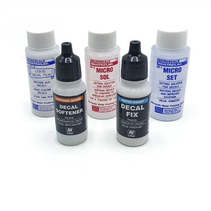 Decal liquids