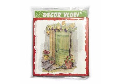 Decor Vloei - 100 pack assorti