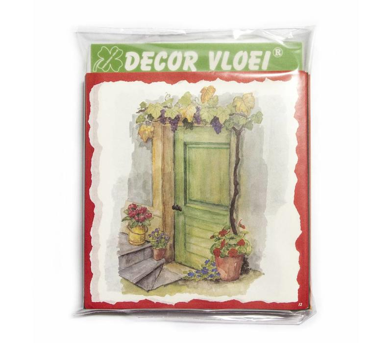 Decor Vloei - 100 pack assorti